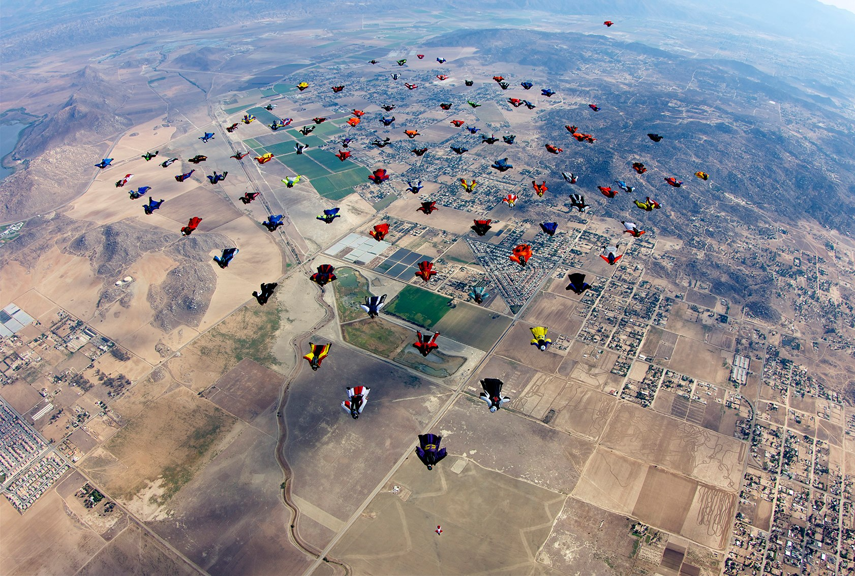Wingsuit World Record Attempt