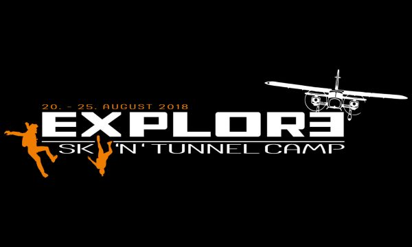 Explore Sky 'N' Tunnel Camp Logo