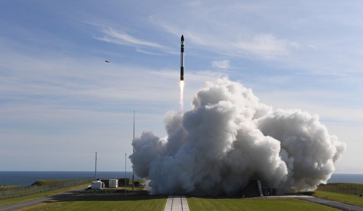 It's business time rocket launch.