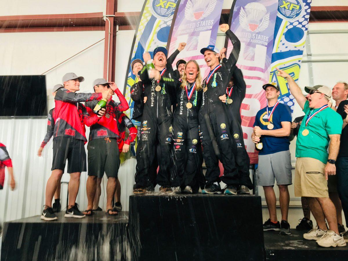 SDC Rhythm XP on the podium