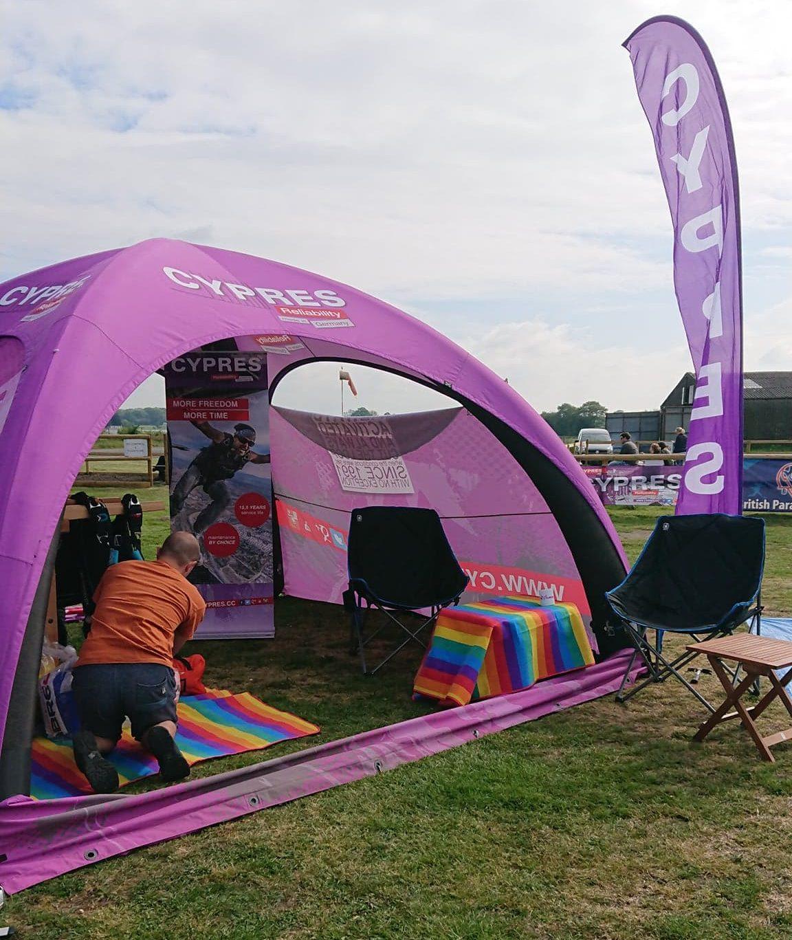 CYPRES Tent