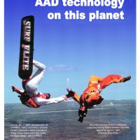 An old CYPRES ad of Omar jumping in Florida with the space shuttle launching in the background