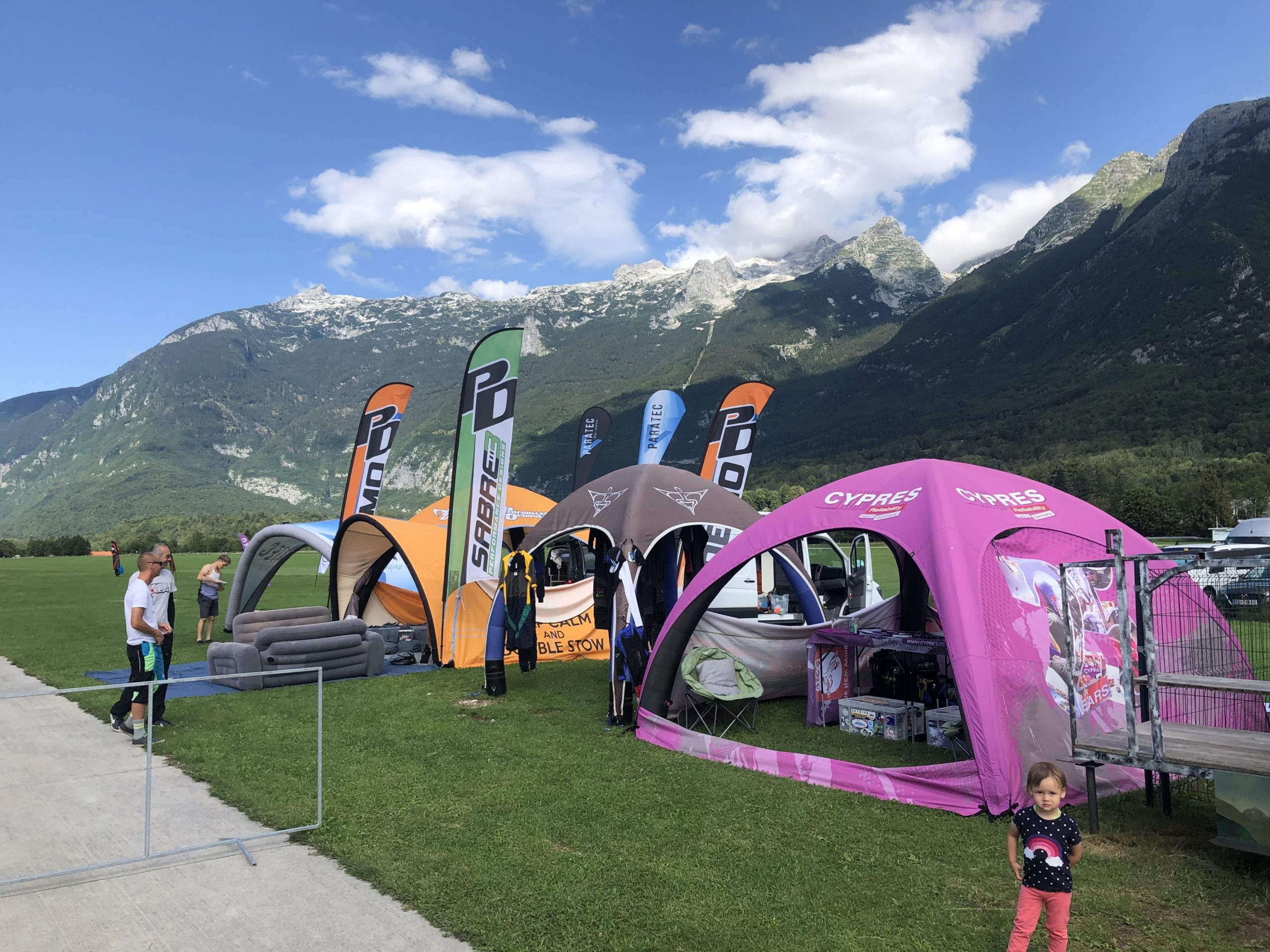 Tent at Bovec
