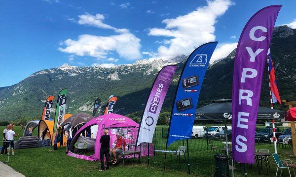 Tent and Blades at Bovec